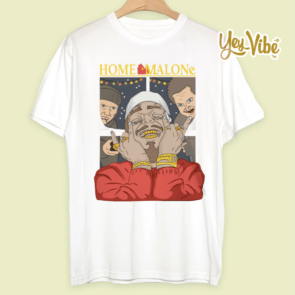 Home Malone Shirts - Post Malone