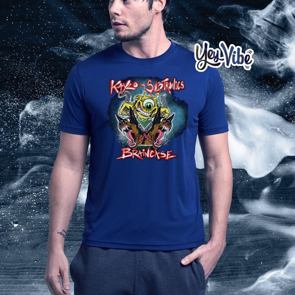 Kayzo x Subtronics Braincase T Shirts