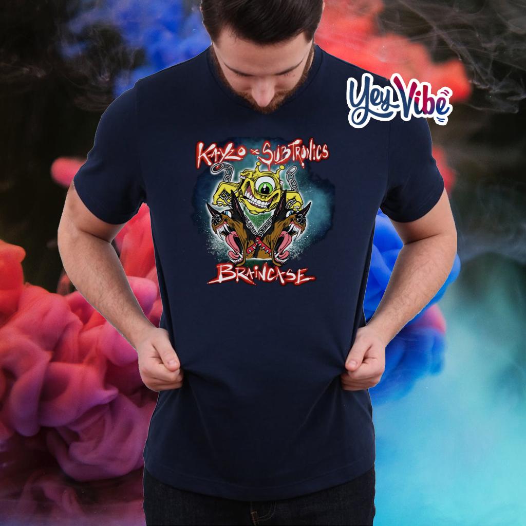 Kayzo x Subtronics Braincase Tee Shirts