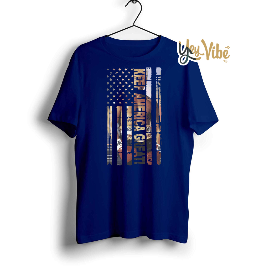Keep America Great T Shirt 2020 Presidential Support