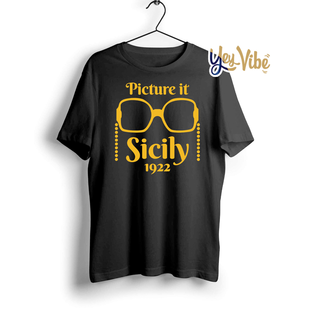 Picture it Sicily 1922 Golden Friends T Shirt