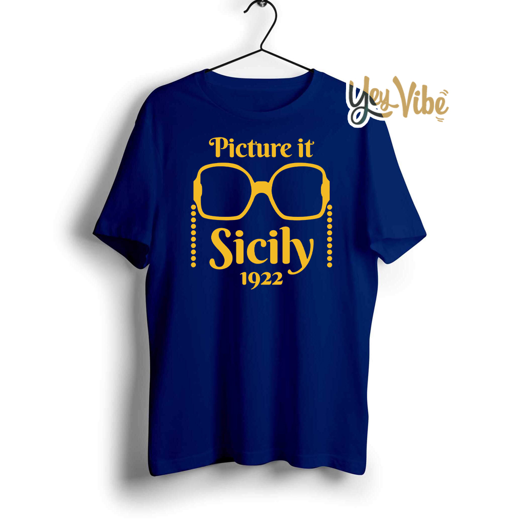 Picture it Sicily 1922 Golden Friends T Shirts