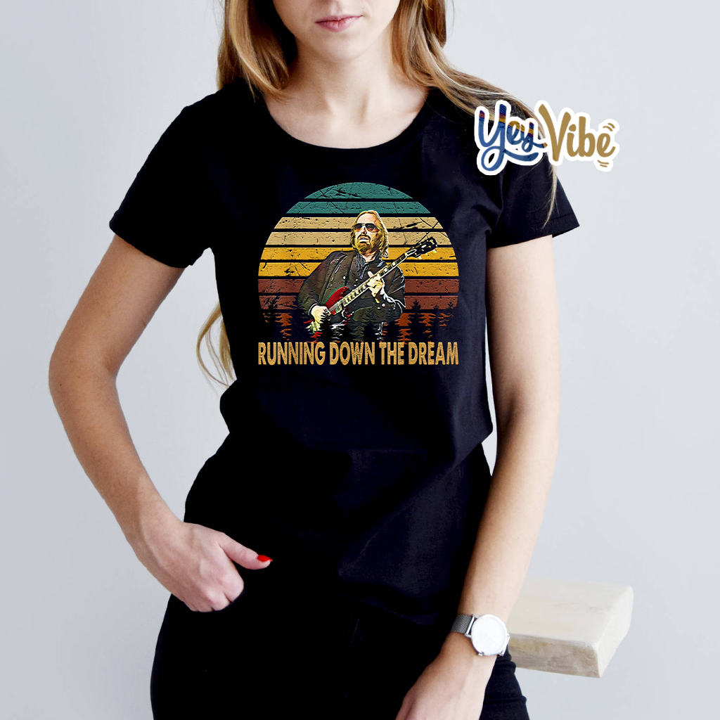 Tom Petty Musician Running Down The Dream Shirts