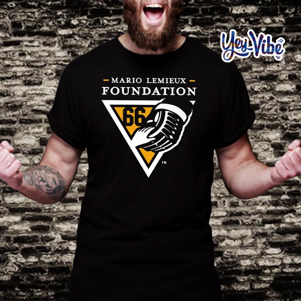 mario lemieux foundation t-shirt