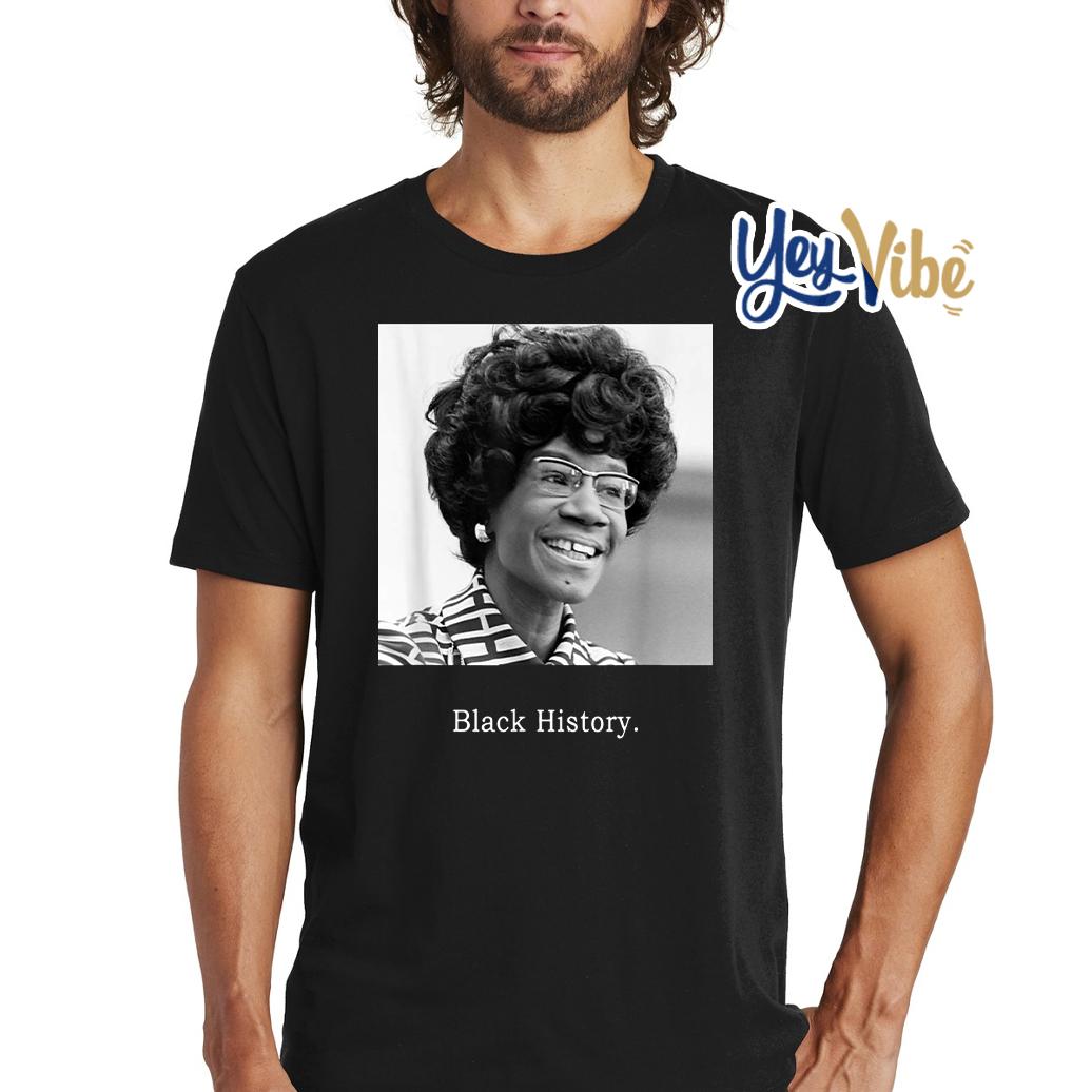 Shirley Chisholm Black History Month US Congress 9 T-Shirt