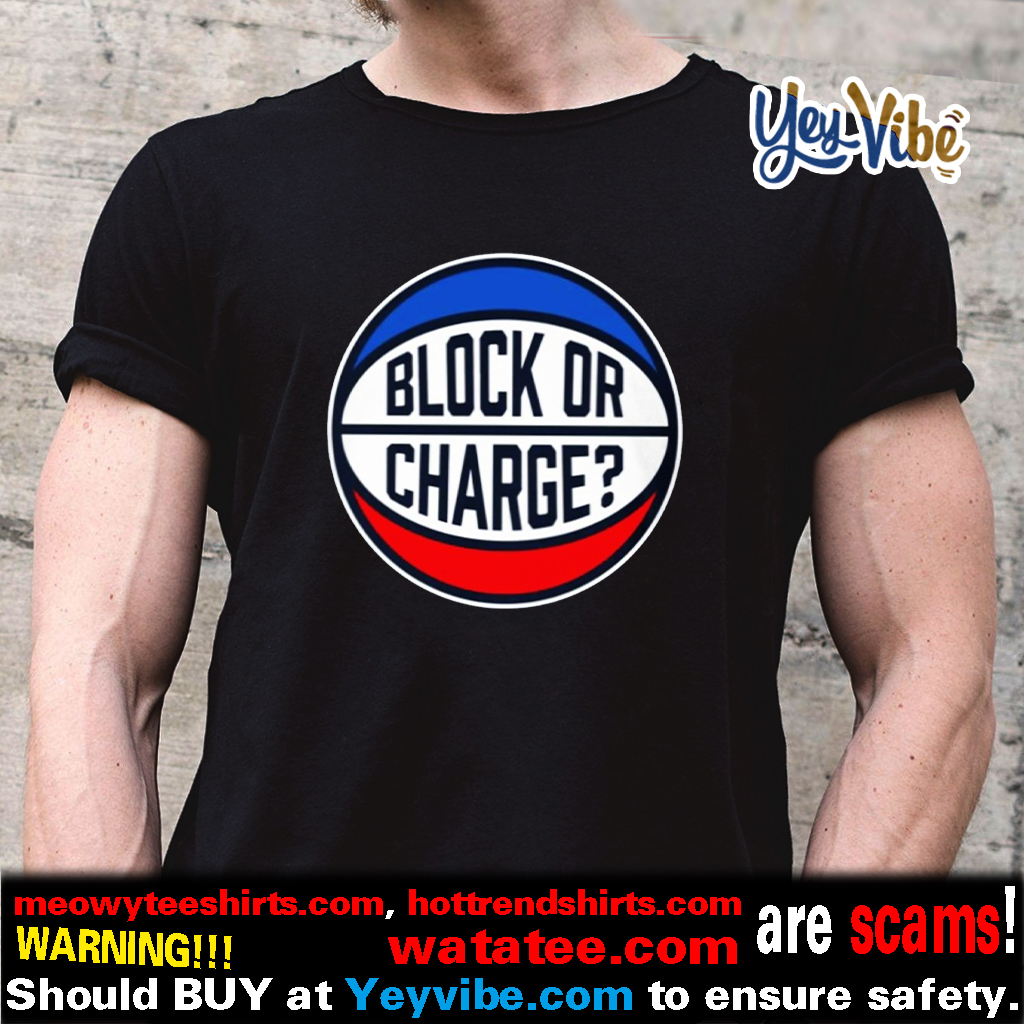 Block Or Charge Classic T Shirts