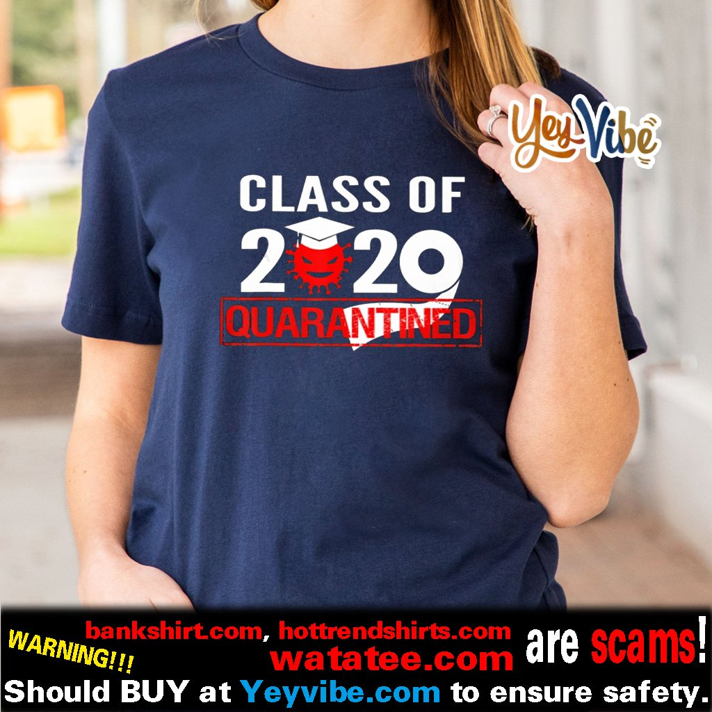 Class of 2020 Toilet Paper Quarantine Shirts