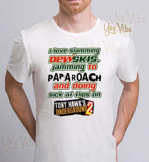 i love slamming dewskis shirt