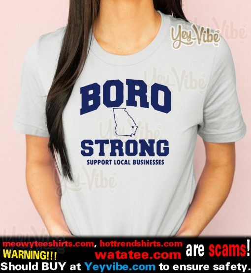 Michigan Strong Boro Strong Businesses T-Shirt