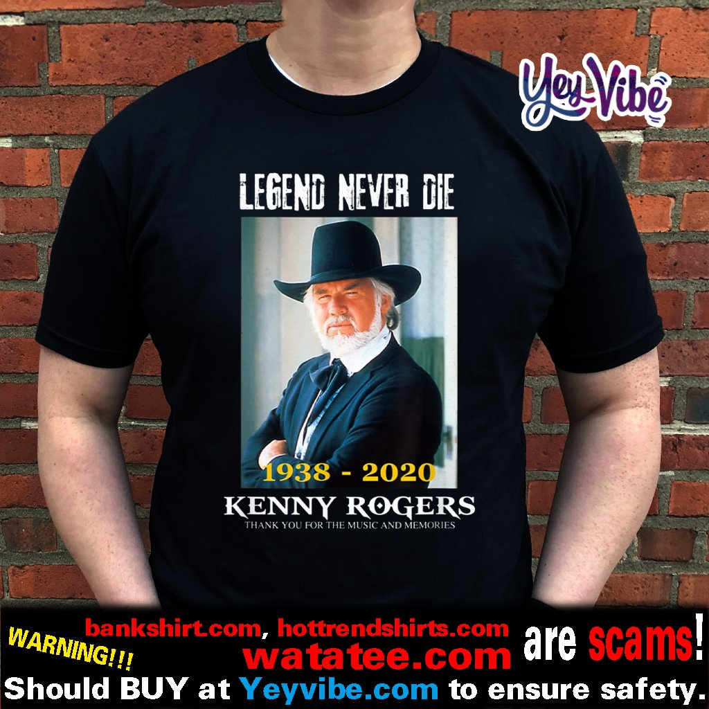 Thank You For The Memories Kenny Rogers 64 Year T Shirt