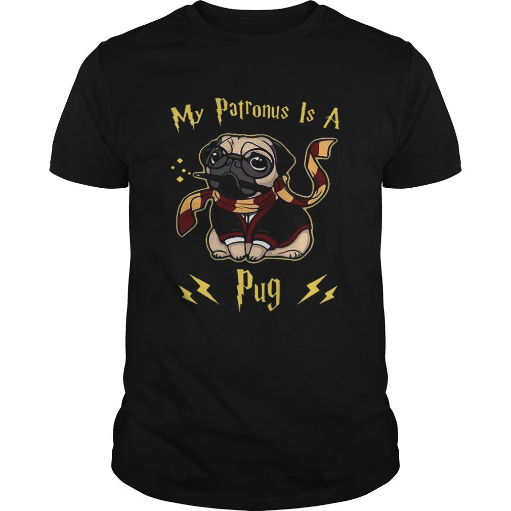 Good Harry Potter My Patronus Is A Pug Unisex