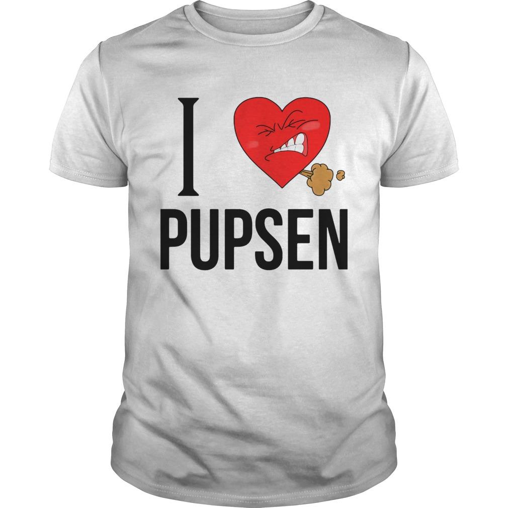 I Love Pusen Unisex