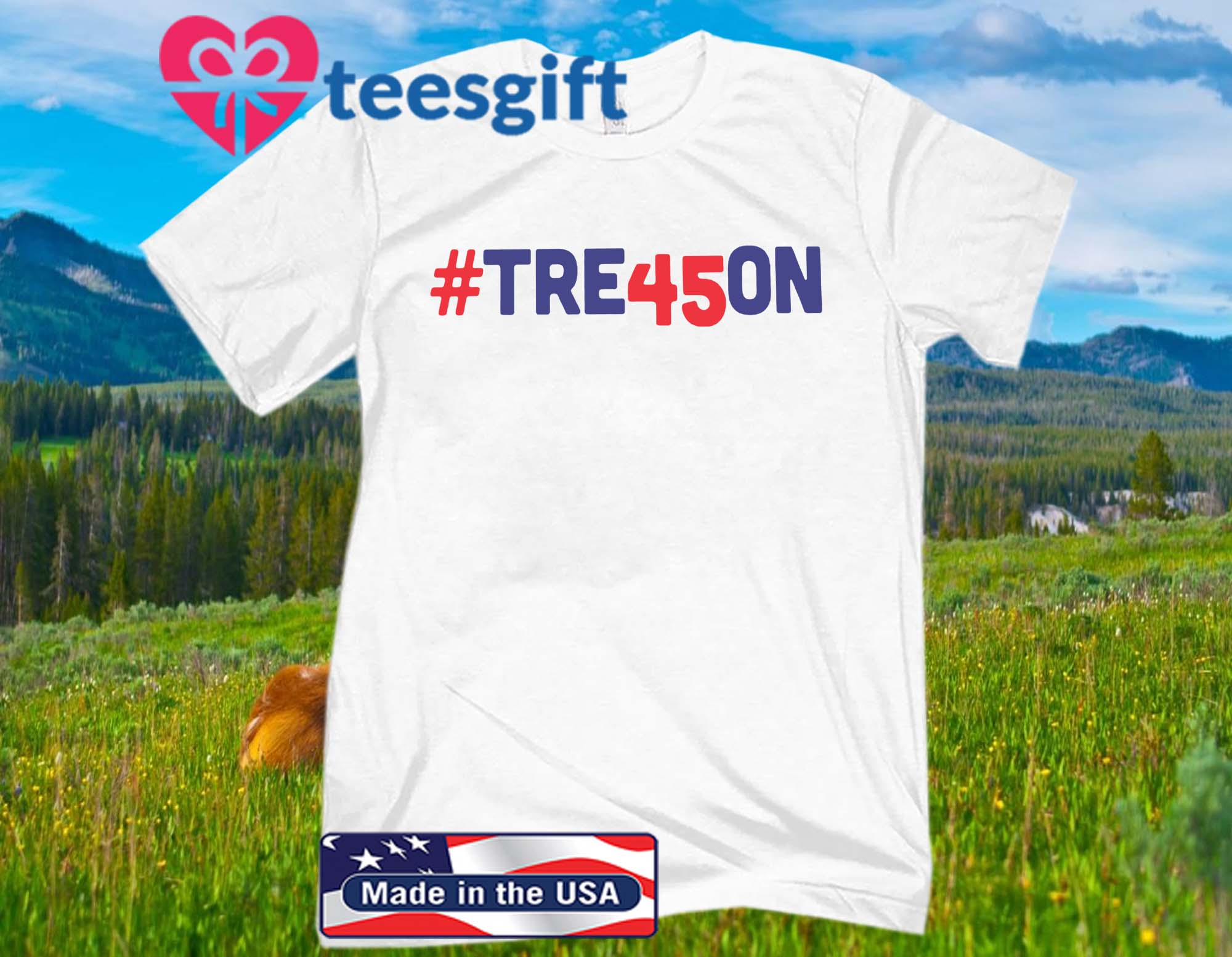 #TRE45ON T-SHIRT UNITED STATES
