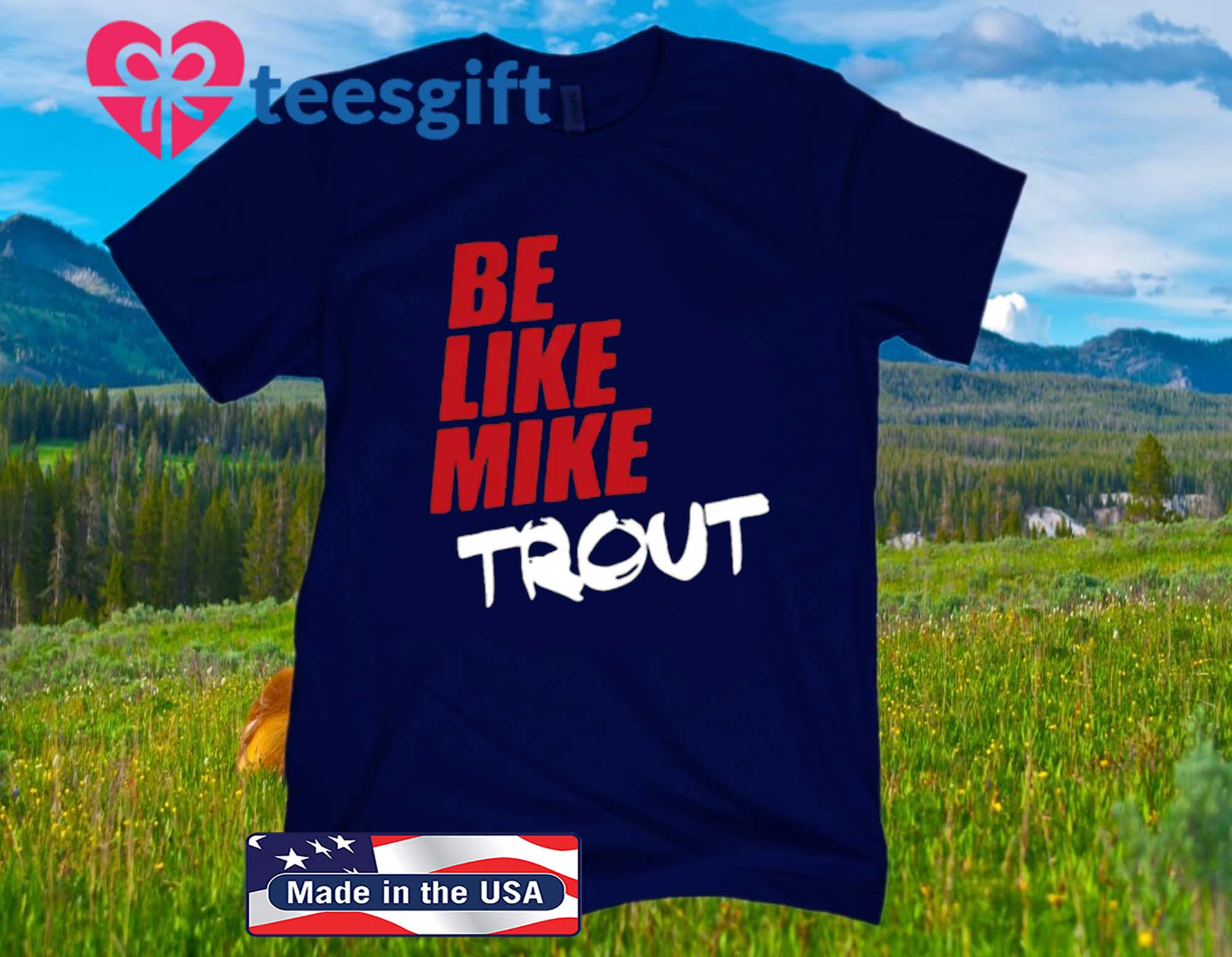 Be Like Mike Trout Classic T-Shirt