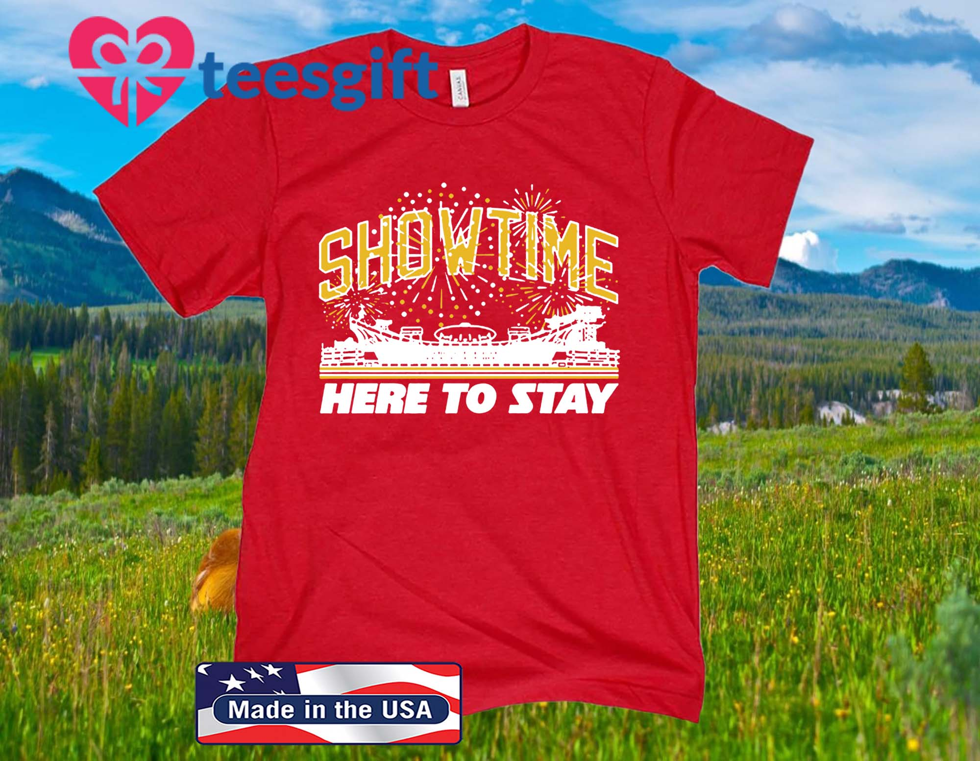 Showtime - Here To Stay T-Shirt - Kansas City Football