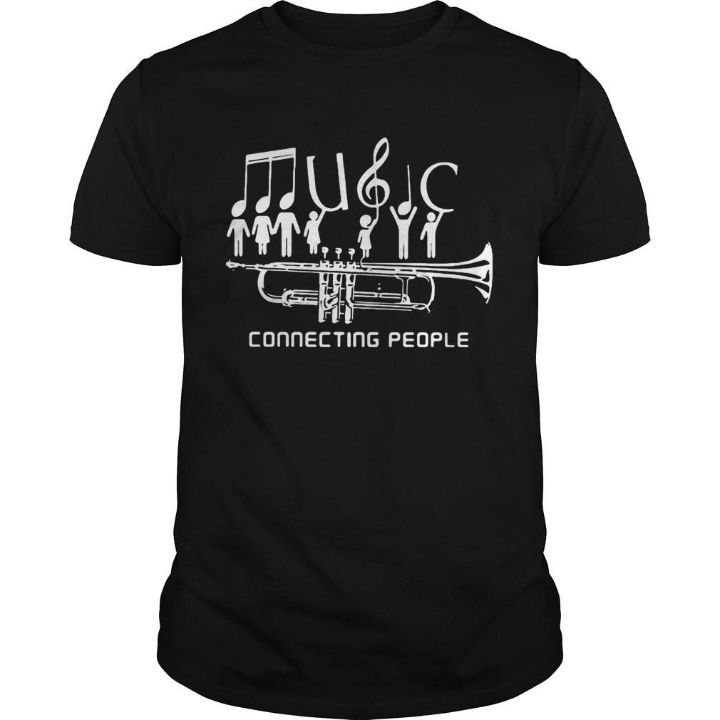 Trumpet music connecting people Unisex