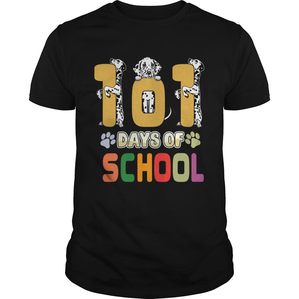 101 Days Of School Dalmation Dog Teachers Gift Unisex