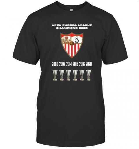 2020 Sevilla Champions Europa League T-Shirt Classic Men's T-shirt
