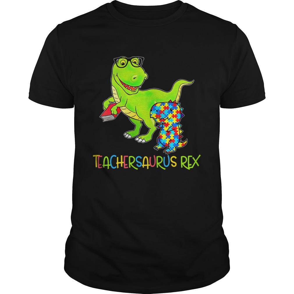 Autism TeacherSaurus Rex Unisex