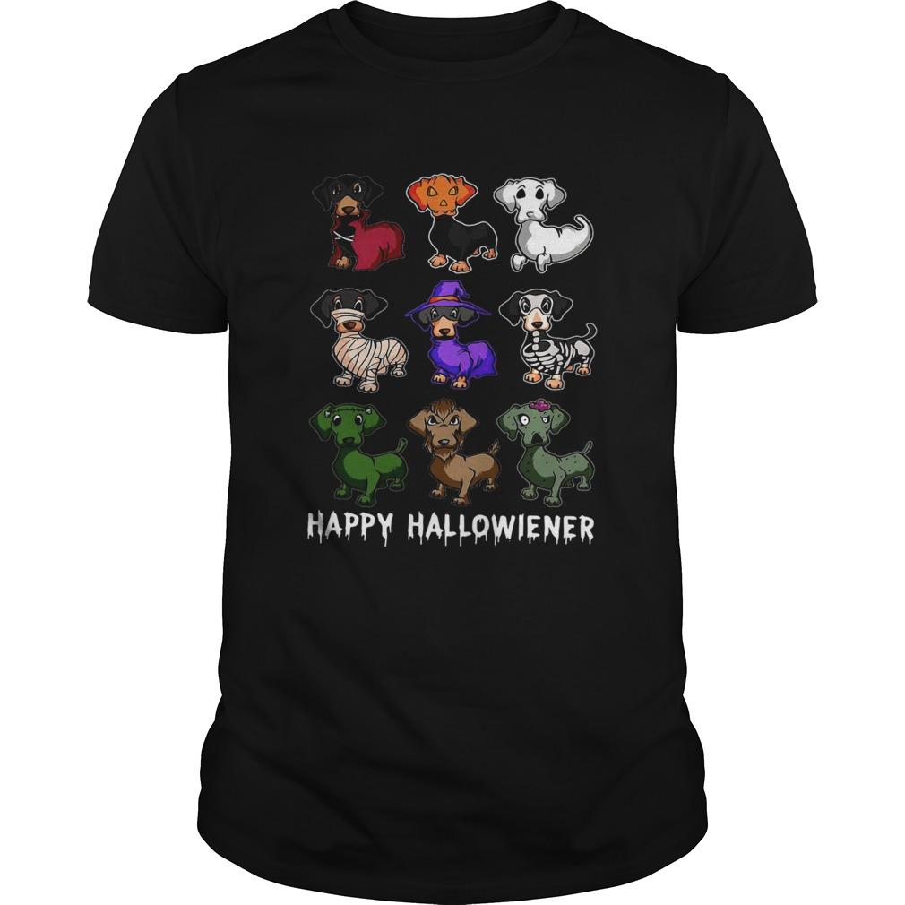Dachshund Happy Halloween Unisex