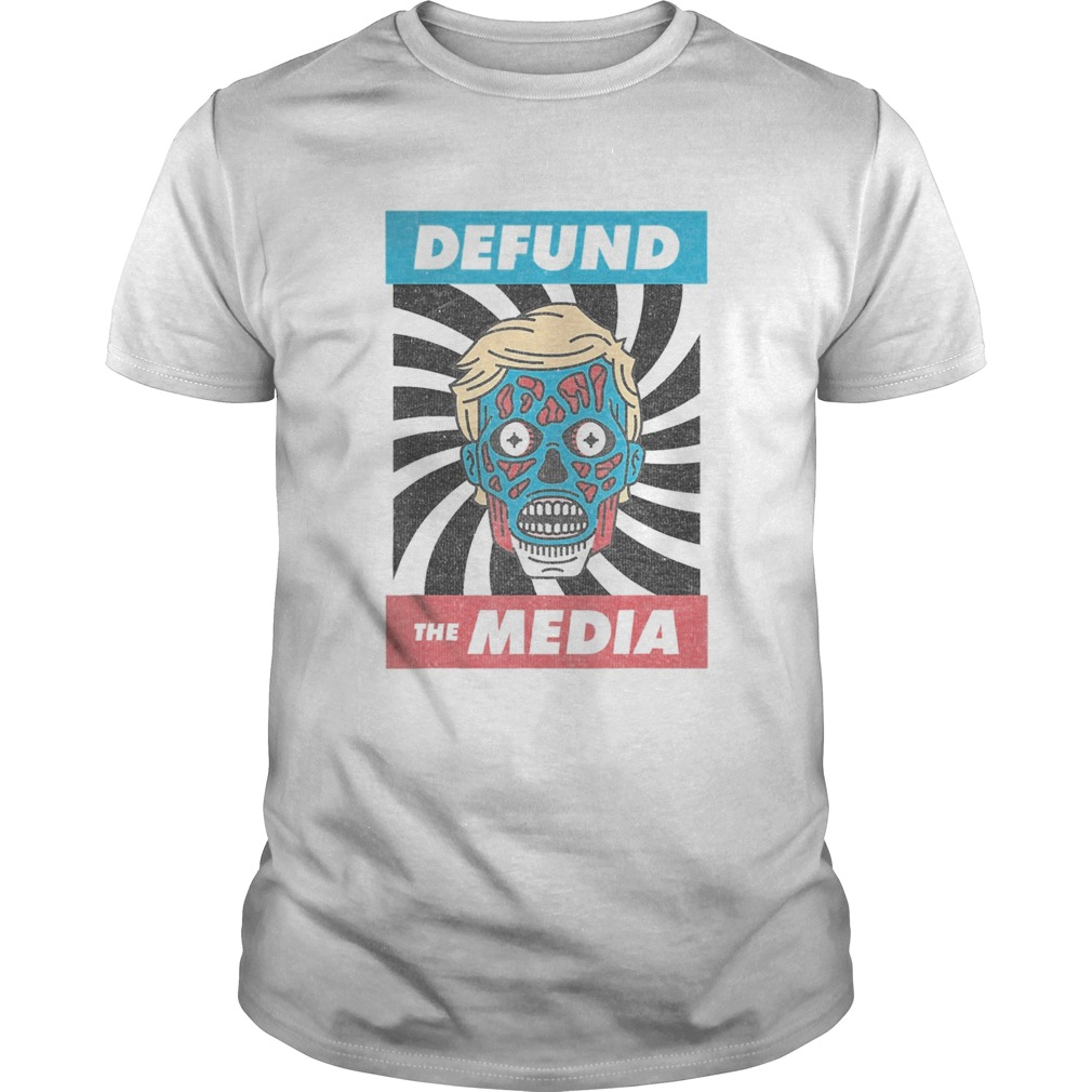 Defund the media pro trump 2020 Unisex