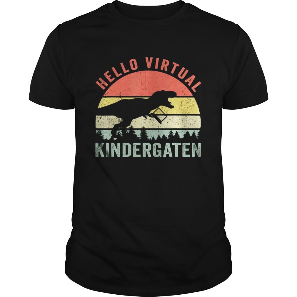 Dinosaur Hello Virtual Kindergarten Unisex