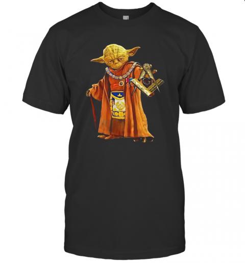 Master Yoda Freemason Brother T-Shirt Classic Men's T-shirt