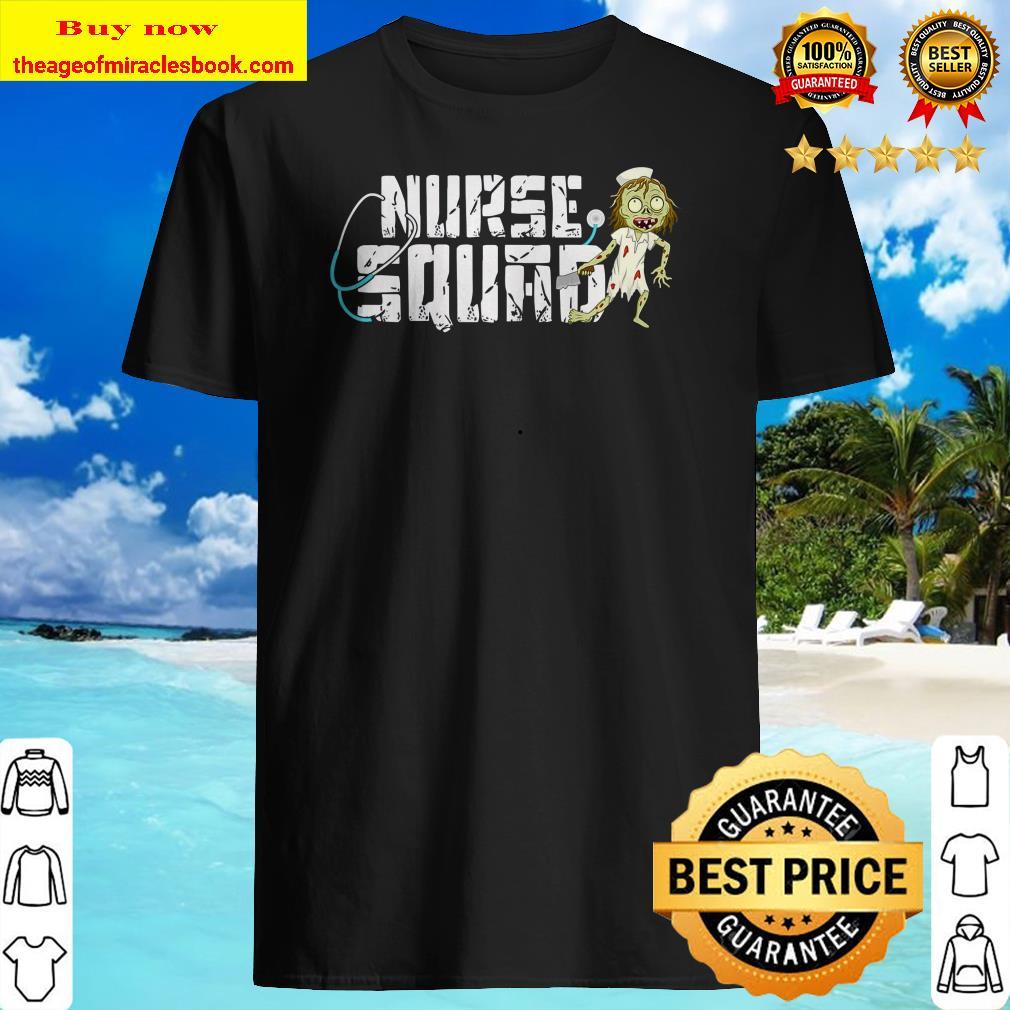 Nurse Squad Halloween Shirt - Nurse Halloween Shirt