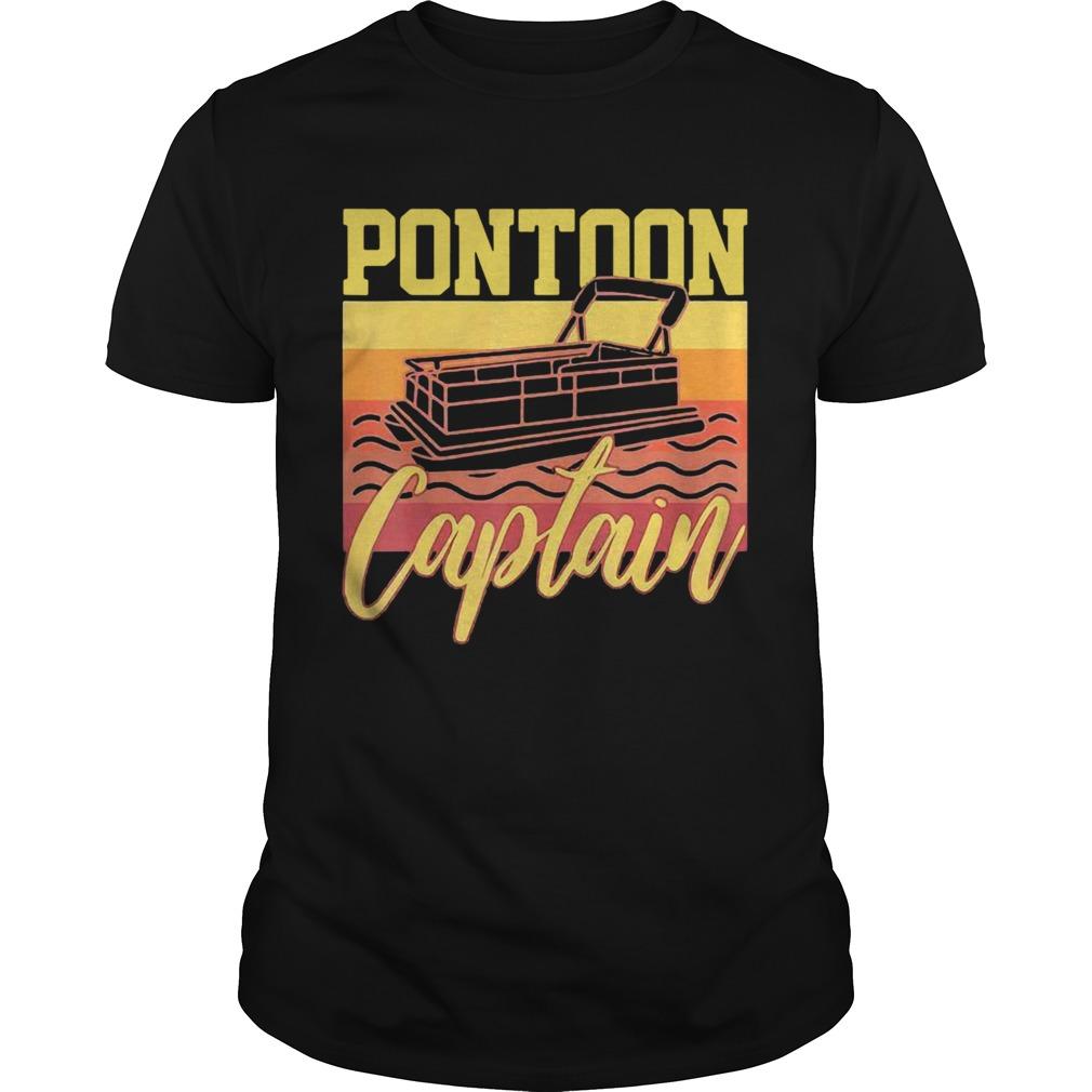 Pontoon Captain Vintage Unisex