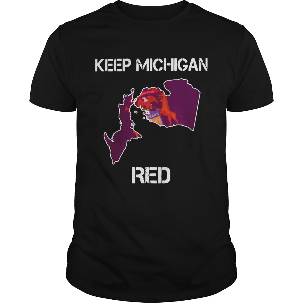 Premium Keep Michigan Red Unisex