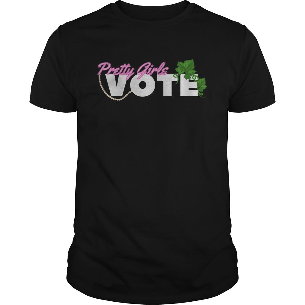 Pretty Girls Vote Sorority AKA Unisex
