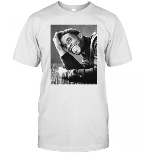 RIP Black Panthers Chadwick Boseman T-Shirt Classic Men's T-shirt
