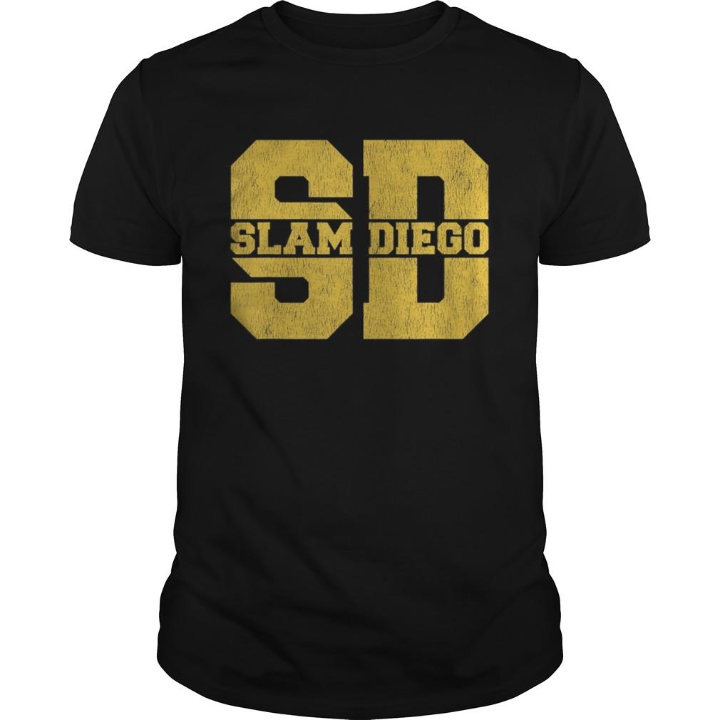 Slam Diego San Diego Souvenirs Unisex