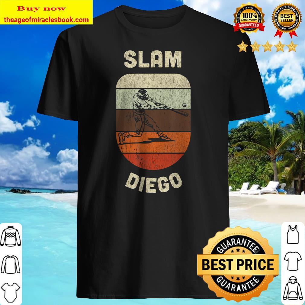 Slam Diego Shirt San Diego Souvenirs and Gift Baseball Fans Shirt