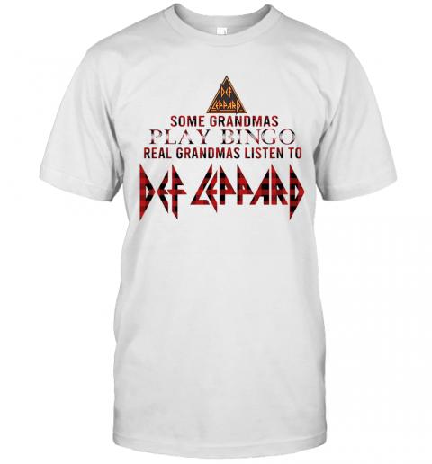 Some Grandmas Play Bingo Real Grandmas Listen To Def Zeppelin T-Shirt Classic Men's T-shirt