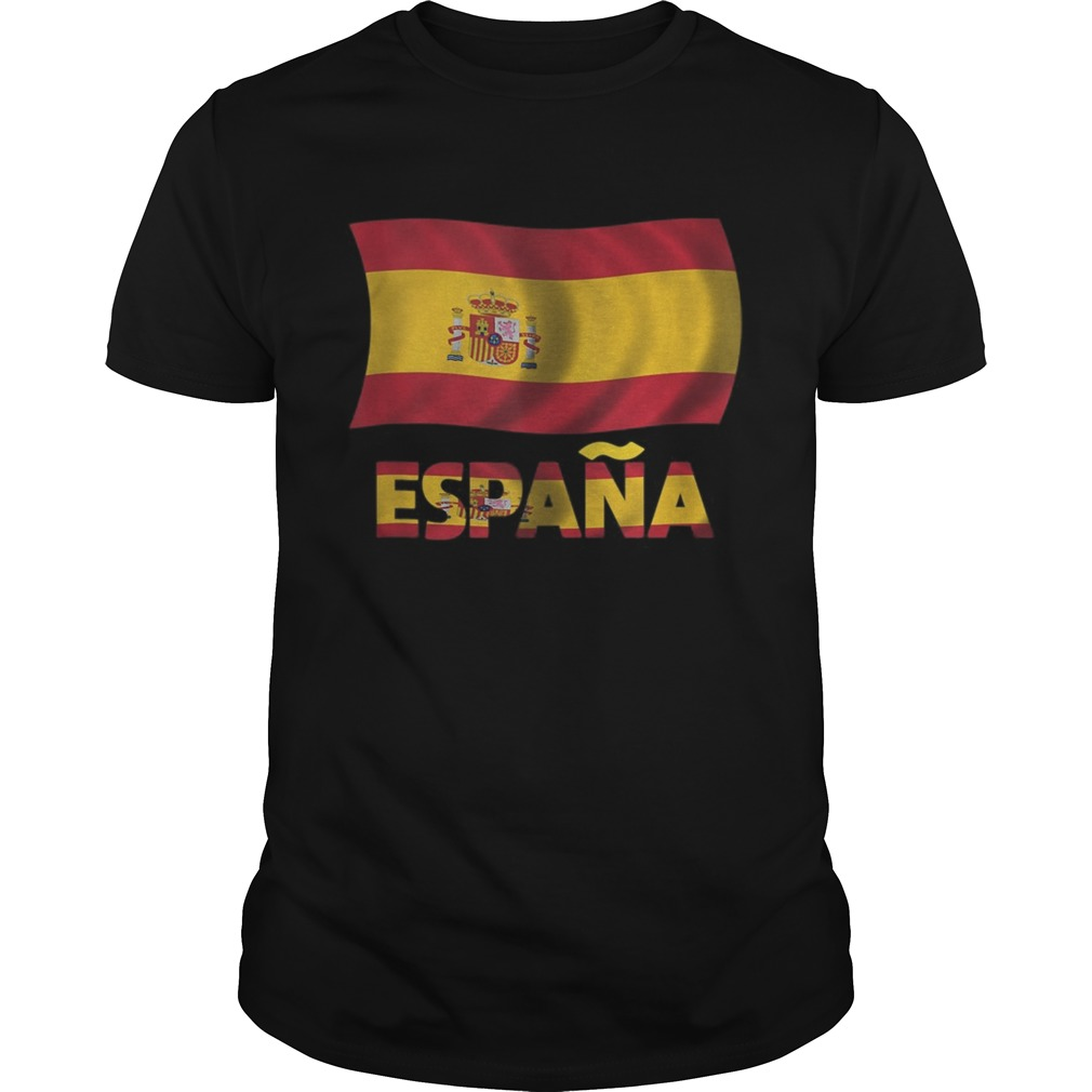 Spain Flag Spanish Symbol Spaniard Gift Espana Unisex
