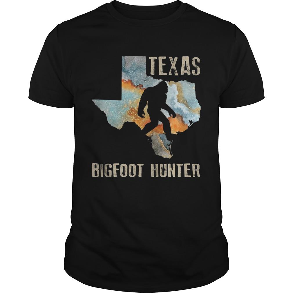 Texas Bigfoot Hunter Unisex