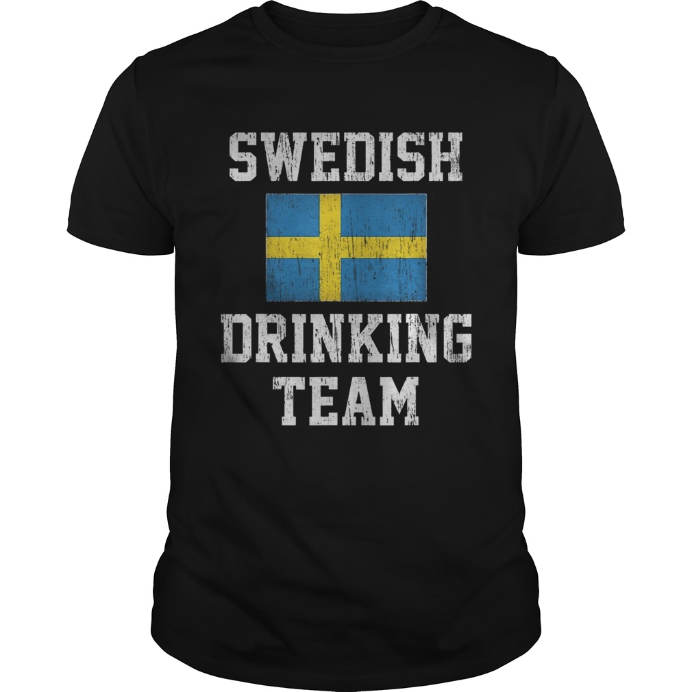 Vintage Swedish Drinking Team Unisex