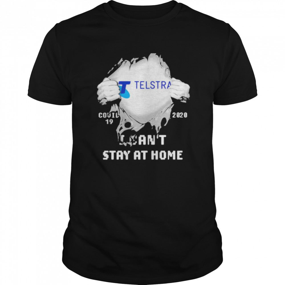 Blood insides telstra i can't stay at home covid-19 2020 Classic Men's T-shirt