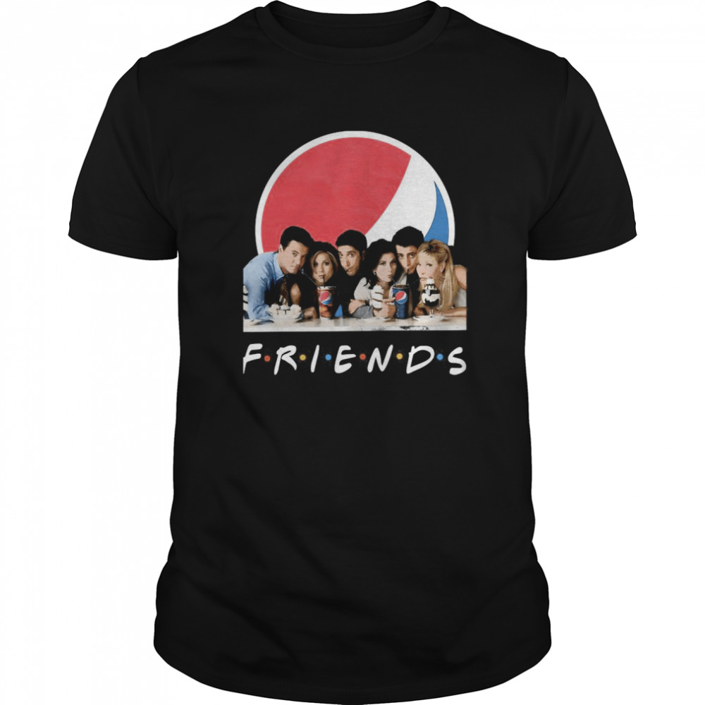 Friends Character Pepsi Classic Men's T-shirt