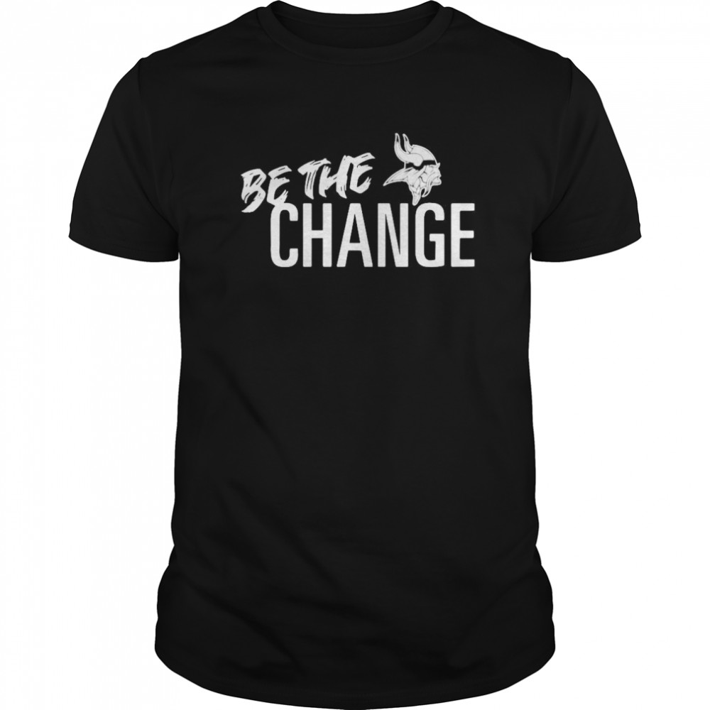 Minnesota Vikings Be The Change 2020 Classic Men's T-shirt