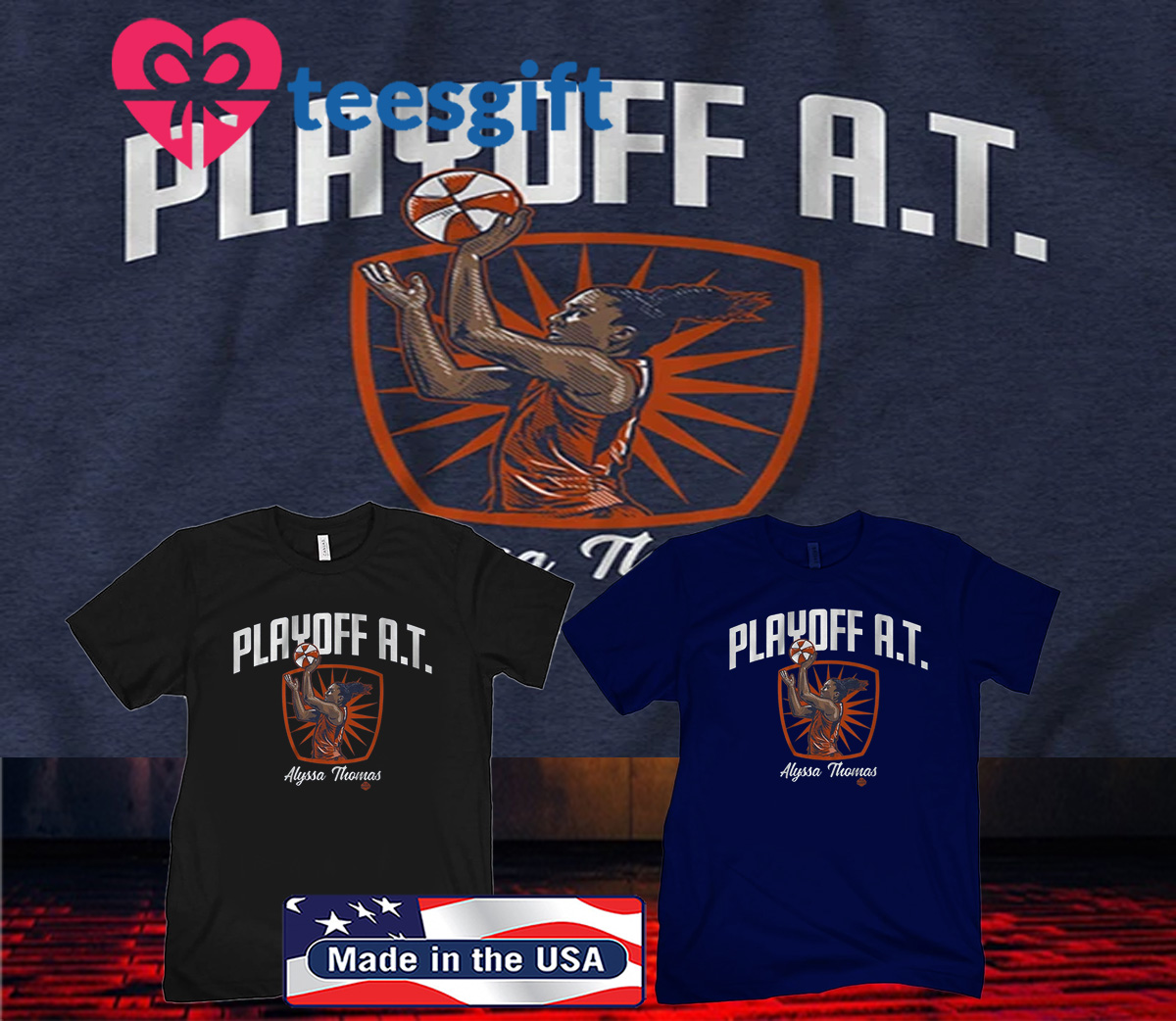 Playoff AT Alyssa Thomas 2020 Shirt