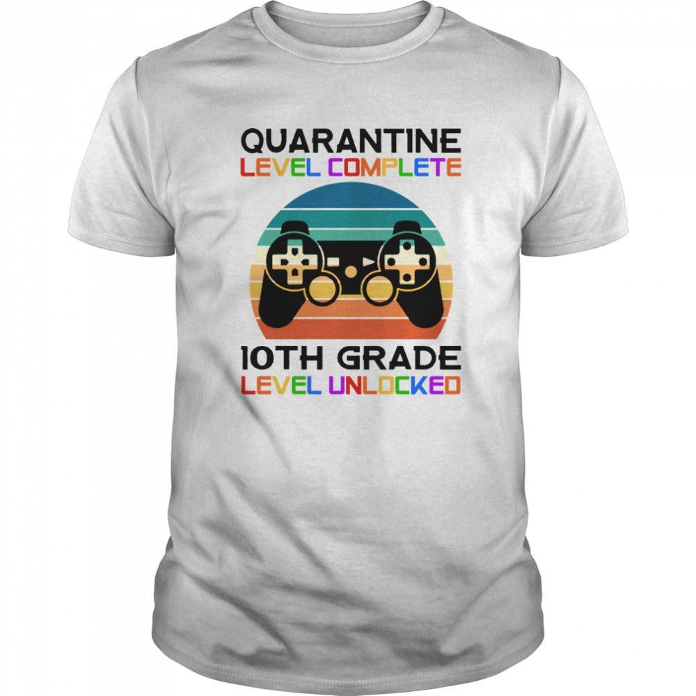 Quarantine Lever 10th Grade Unlocked School Vintage Gift Classic Men's T-shirt
