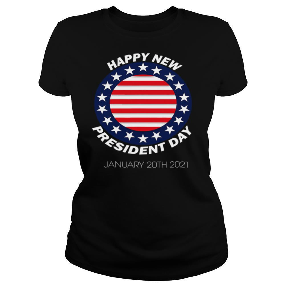 Happy New President Inauguration Day American Flag shirt