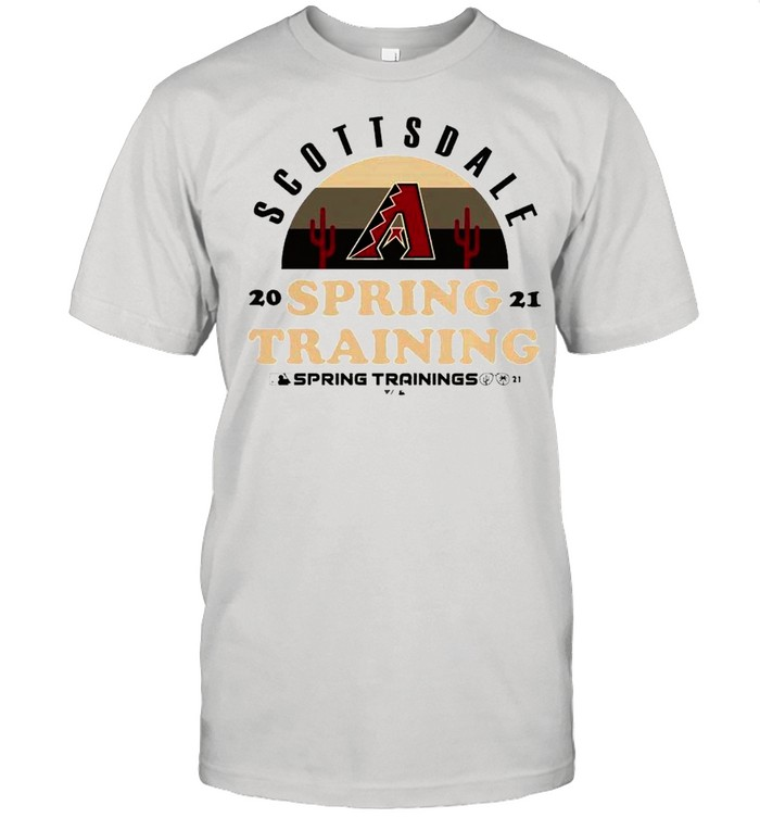 Arizona Diamondbacks Scottsdale 2021 Spring Training shirt Classic Men's T-shirt