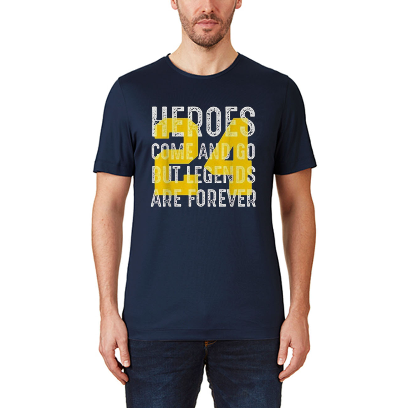 Heroes come and go but legends are forever 24 kobe bryant Unisex T-Shirts