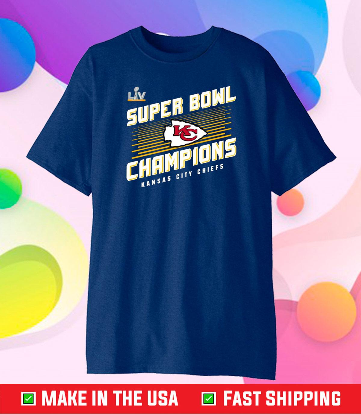 Kansas City Chiefs 2021 Super Bowl Championship Unisex T-Shirt