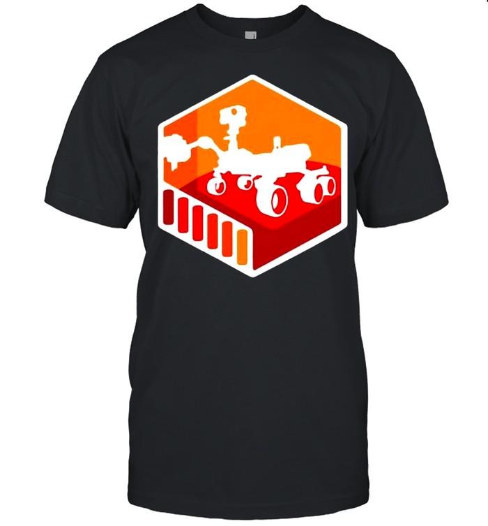 NASA JPL Mars 2020 Rover Mission Mars Exploration Program shirt Classic Men's T-shirt