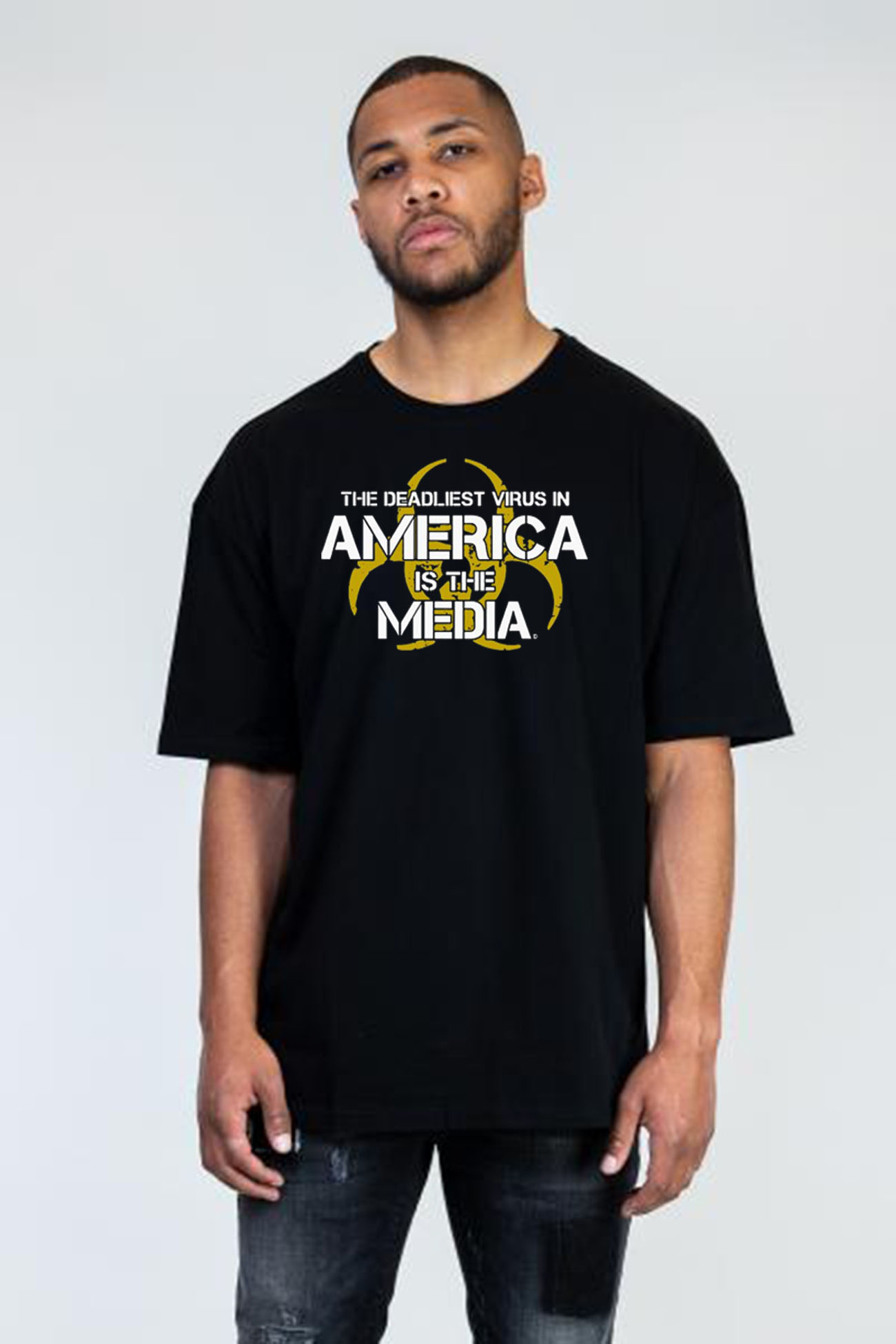 The Deadliest Virus in America is the Media Classic T-Shirt