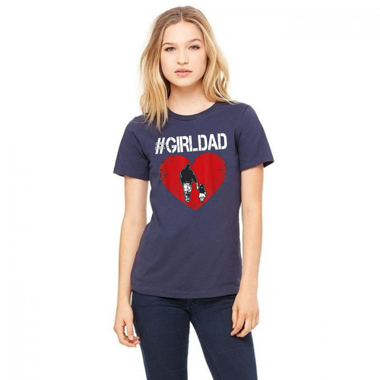 #girldad Girl Dad Father of Girls Unisex T-Shirts